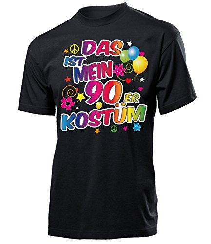 90er Kostüm Männer T-Shirt Motto Schlager Party Karneval Fasching Geschenke Schlagertshirt Kleidung Gruppenkostüm Zubehör Brille deko Jacke