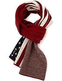 WRANGLER - Light Scarves - Men - Red American Flag Pr Scarf for men - TU