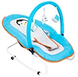 Fillikid 7008-721 Babywippe Relax Pinguin, türkis