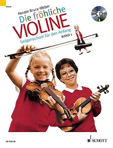 Die fröhliche Violine Band 1, m. Audio-CD