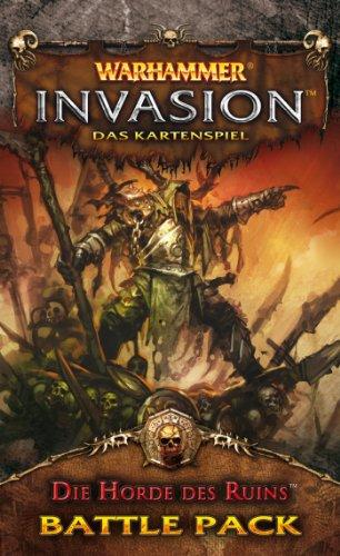 Asmodee HE241 - Warhammer Invasion: Die Horde des Ruins, Battle Pack, Kartenspiel