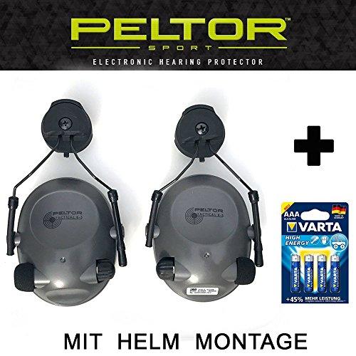 Helmet Mount–Tactical 6S–Original Peltor Estados Unidos electrónicos activo Protección auditiva Auriculares con...