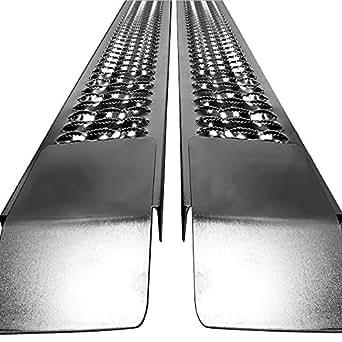 Deuba® Auffahrrampe Autorampe Auffahrschiene Verladerampe Schiene Rampe PKW Auto 2 St. 400 kg