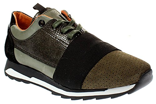 Post Xchange CARLY 75 - Damen Schuhe Sneaker Olive