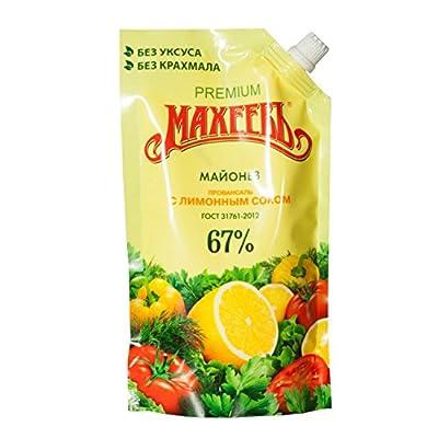 Lackmann leichte Mayonnaise mit Zitronensaft
