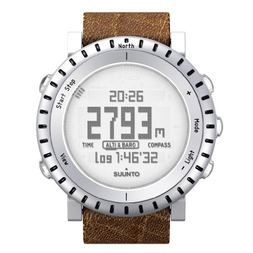 Suunto Uni Outdoor Uhr Core Alu Light, silber, SS015916000