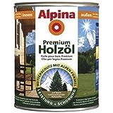 Alpina Premium Holzöl, 750 ml, Innen & Außen, Palisander