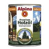 Alpina Premium Holzöl, 750 ml, Innen & Außen, Farblos