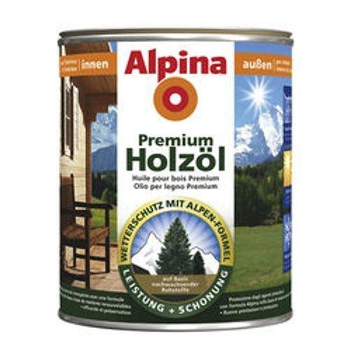 Preisvergleich Produktbild 2,5L Alpina Premium Holzöl Teak