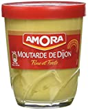 Amora Verre Table Moutarde Forte 150 g - Lot de 3