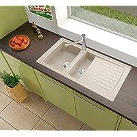 Amazon.it: respekta - Lavello a una vasca e mezzo / Lavelli da ...