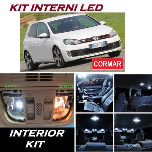 Kit Full LED Interni Golf 6 VI Kit Completo 6000K No Error CANBUS