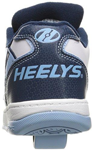 Heelys Propel 2.0 (770506) Unisex-Kinder Sneaker White/Navy/Powder Blue