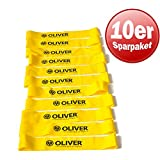 10er Paket OLIVER Rubber-O Strongbänder in verschiedenen Widerständen