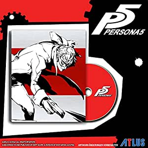 Persona 5 -Edition Limitée SteelBook D1 (PS4) (FR)