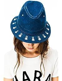 Kling - Sombrero de cowboy - para mujer azul Denim Blue