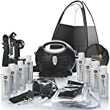 Rapidtan HVLP Airbrush Spray Tan Kit with Tent, 6 x Tan Solutions & More. Special Offer 42% OFF.