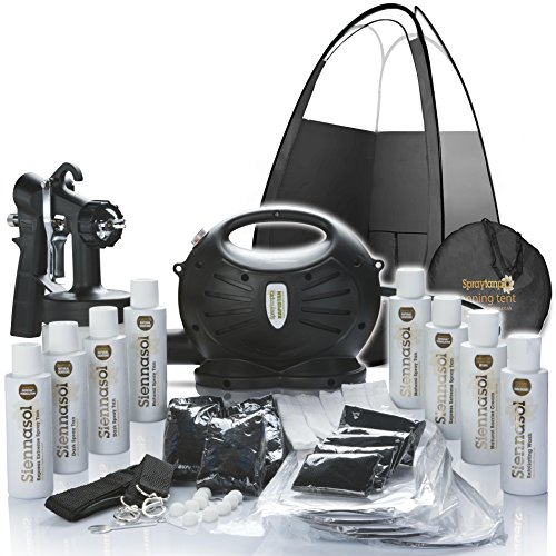 En venta Aerosol Rapidtan HVLP bronceado con aerógrafo Kit tienda, Tan Solutions & Más