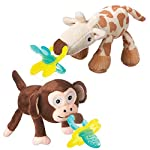 Nuby UK Snoozies and Chewbie Teether, Assorted Characters