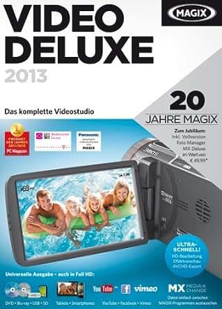MAGIX Video deluxe 2013 [Download]