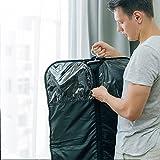 BAGSMART Faltbare Nylon Anzugtasche Leichter Kleidersack mit Tragegriffen Magnetverschlüsse Business Reisen - 6