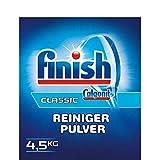 Finish Calgonit Classic Detergente Polvere Lavastoviglie Polvere Lavastoviglie Potente Pulizia con Insonorizzanti Attivi 4,5 kg