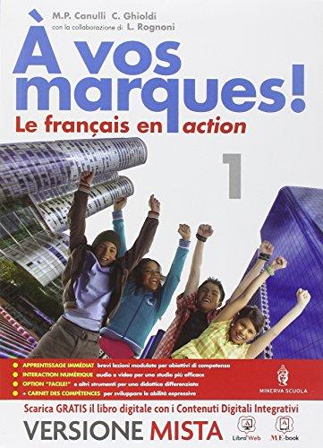 A vos marques. Con Carnet des competences. Per la Scuola media. Con e-book. Con espansione online: 1