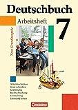 Deutschbuch - Neue Grundausgabe: 7. Schuljahr - Arbeitsheft mit Lösungen