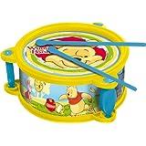 IMC Toys - 160446 - Tambor diseño Tigger y Pooh [Importado de Alemania]