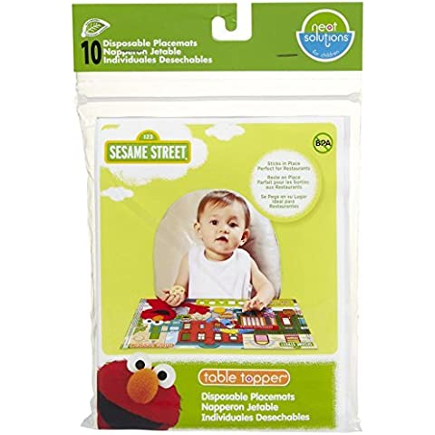 Neat Solutions Eco Table Topper - Sesame Street - 10 ct by Neat Solutions - Sesame Street Topper