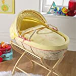 Izziwotnot ABC Safari Maize Moses Basket