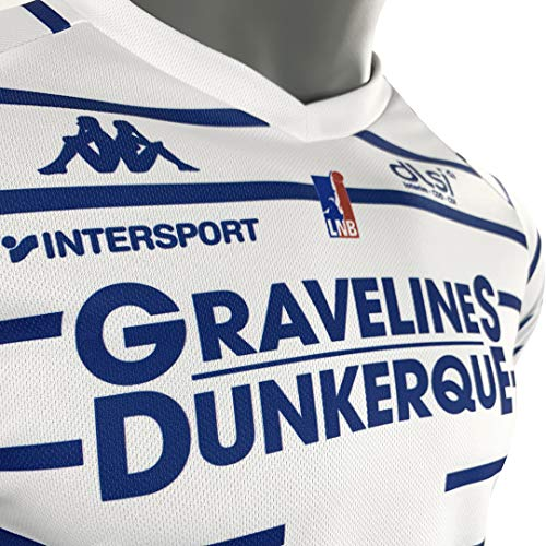 Zoom IMG-3 bcm gravelines dunkerque maglia ufficiale