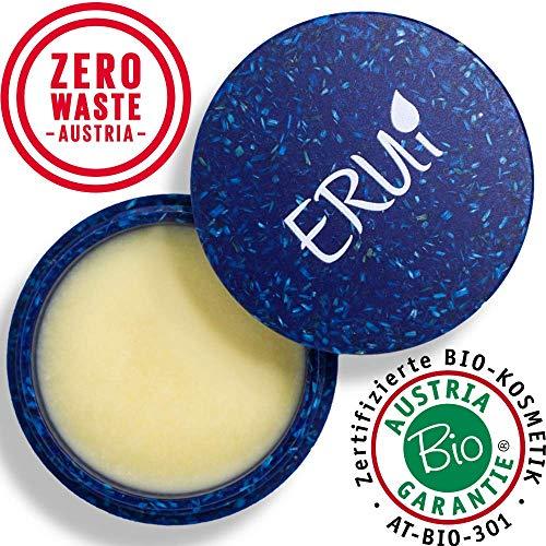 *NEU* ERUi® Hornwald Nachhaltiges Bio After Shave Balsam für Männer, 2-in-1 Aftershave Balsam & Hautpflege Gesichtscreme - Vegan, biologisch abbaubar, frei von Plastik, Parfum & Alkohol (1 x 30 g) - Parfum Balsam