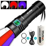 Wurkkos WK30 Multifunktionale Taschenlampe,Triple Reflektor mit 3 verschiedenen...