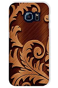 Sankee Case For Samsung Galaxy S6 Edge (Printed Back Cover)