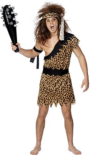 Imagen de smiffy's 20443l  disfraz de cavernícola para hombre talla 42/44  alternativa
