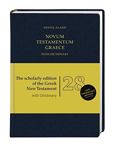 Novum Testamentum Graece (Nestle-Aland): mit griechisch-englischem Wörterbuch