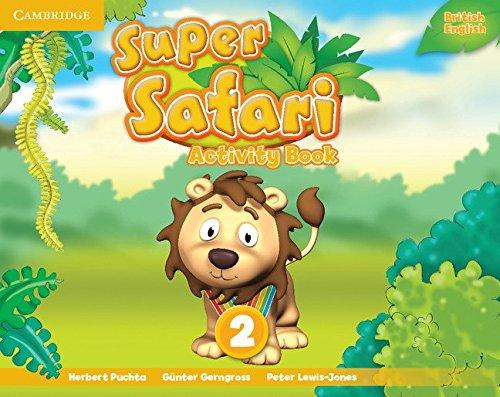 Super Safari Level 2 Activity Book (Super Minds)
