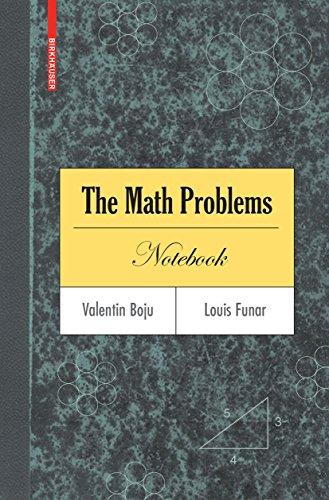 The Math Problems Notebook (English Edition) eBook: Valentin Boju ...