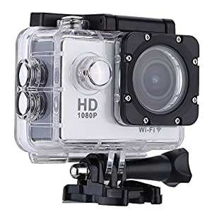 """Andoer® W9B Wifi 1080P 30FPS Max 12MP 30M Impermeabile Antiurto 170 ° Wide Angle """"schermo 2.0 Outdoor Action Sports Fotocamera Videocamera Digitale Cam Video HD DV DVR(Prodotto di Aggiornamento)"""