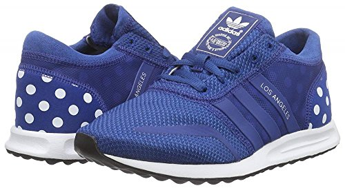 adidas Originals Los Angeles, Damen Sneaker Low-Tops, blau - blau/weiß - Größe: - Damen Weiß Angeles Adidas Los