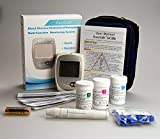 Easy Life Cholesterol Glucose & Hemoglobin (anaemia) Meter Monitoring system