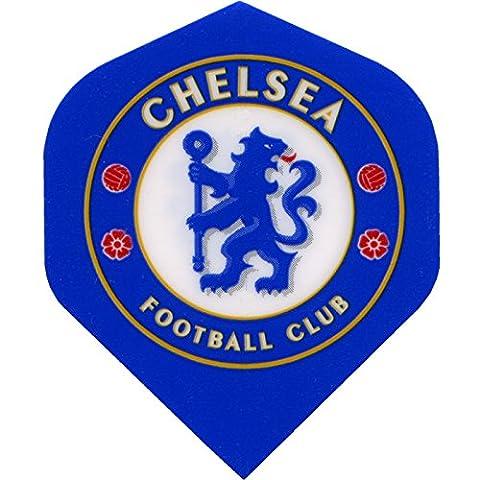 Football Fléchettes vols–Sous Licence authentique Premiership équipe vols–Chelsea–1Set (3)