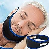 HQLCX Anti-Acariens Bandeau Masque de Sommeil Ronflement Ceinture Protection Contre Le Ronflement Jaw Dislocation Support Ceinture Outils de Soins de Santé,76cm