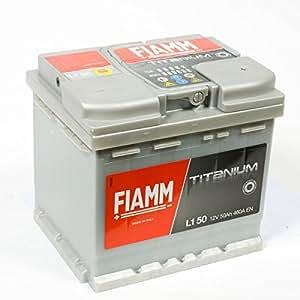 Batterie démarrage fiamm 12v 50ah 460a