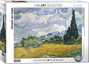 Eurographics 6000-5307 - Puzzle de 1000 Piezas, diseño de Campo de Trigo con ciprés