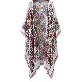 Femmes Kimono, OverDose Mousseline Loose Shawl Kimono Cardigan Top Cover up Blouse