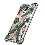 JEPER Funda Huawei Mate 9 Carcasa Silicona Transparente Protector TPU Airbag Anti-choque Ultra-delgado Anti-arañazos Case para Teléfono Huawei Mate 9 Caso Caja (Huawei Mate 9, flor)