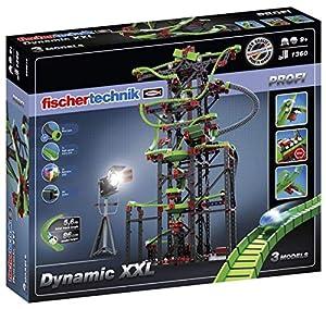 Fischertechnik Dynamic XXL- Juego Educativo y Divertido de Construcción de Circuitos de Canicas, 1310 Piezas
