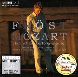 Clarinet Concerto & Quintet [Import USA]